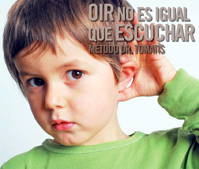 Oír no es igual que escuchar
