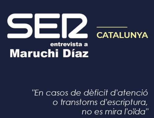 Entrevista a Maruchi Diaz (Què vols Ser, Cadena SER Catalunya)