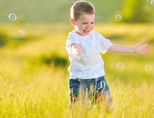 Mateo a pasado a ser un niño más independiente